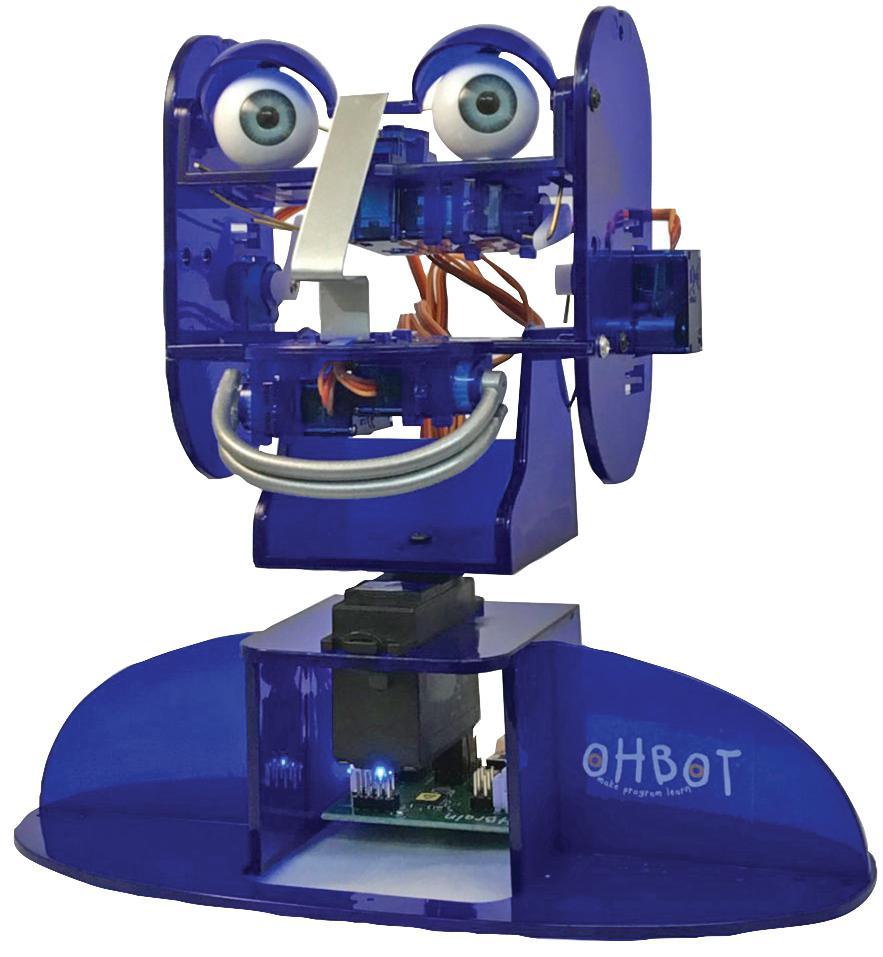 OhBot idea box content
